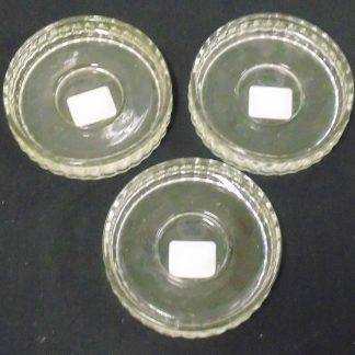 3 Heritage Glass Candle Holder