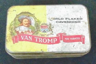 Van Tromp Pipe Tobacco Tin