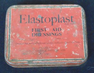 Elastoplast First Aid Dressing Tin