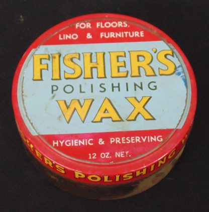 Fisher's Polishing Wax Tin Hygienic & Preserving Australia