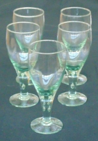 5 Margareta Glasses, Made in Mexico