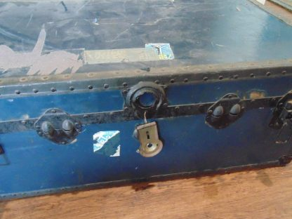 Blue Travelling Trunk