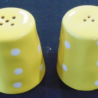 Maxwell Williams, Sprinkle, Yellow, Sault & Pepper Shakers