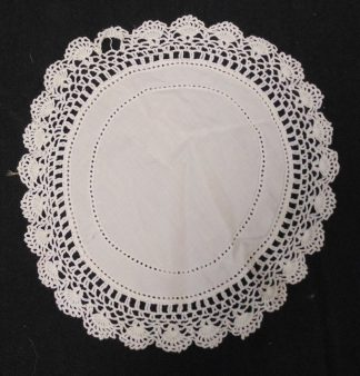 White Doily - Damaged