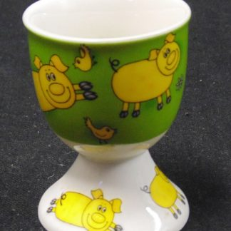Maxwell Williams Pig and Bird Egg Cup