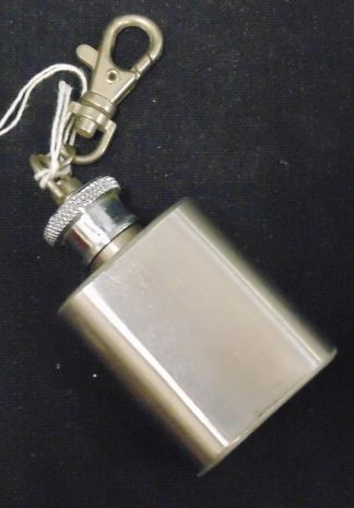 Stainless Steel 1oz Keychain Flask