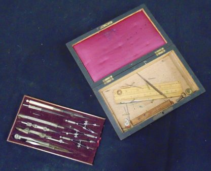 Vintage Boxed Drawing Set with key