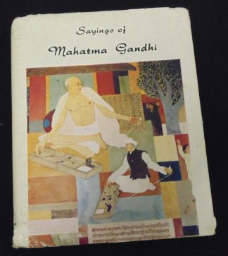 Sayings of Mahatma Gandhi Book