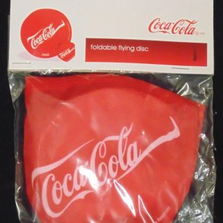 Coca Cola Foldable Flying Disc