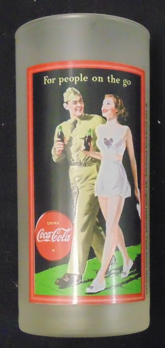 Coca Cola For people on the go High Ball Glass