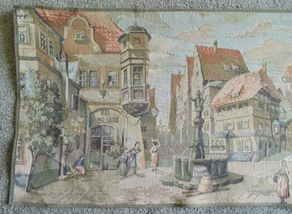 Town Square Tapestry - Wall Hanging Made in Belgium