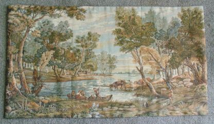 Australian Country Boat vista Tapestry - Wall Hanging
