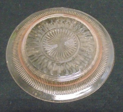 Pink Glass Side Plate