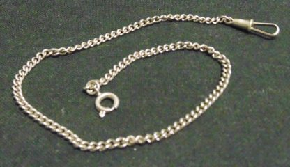 Silver coloured Watch Chain