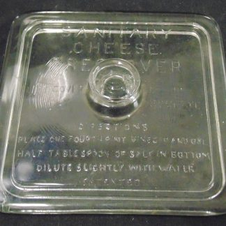 Sanitary Cheese Preserver Square Lid
