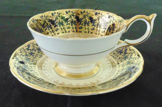 Aynsley, Cardiff Bone China, Cup and Saucer