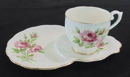 Queen Anne Fine Bone China Tennis Cup and Saucer