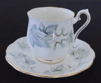 Royal Albert Silver Maple Bone China Coffee Cup and Saucer