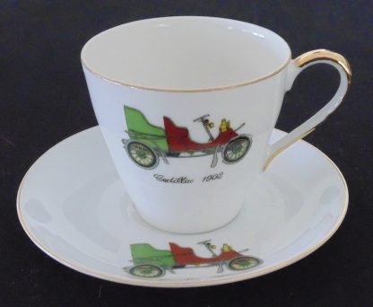 Japan Cadillac 1903 Coffee Cup and Saucer