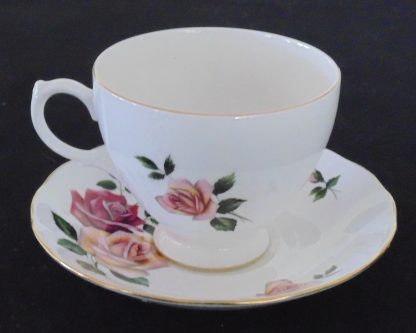 Royal Vale Bone China 8329 Cup and Saucer