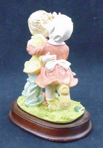 Country Collection Boy and Girl Statue