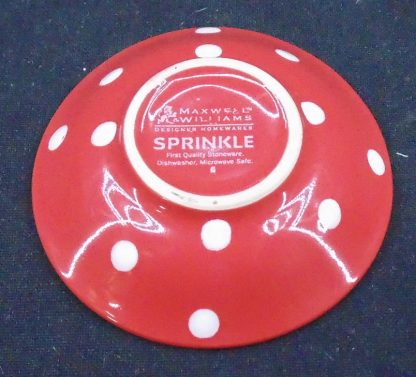 Maxwell Williams Sprinkle Red Sauce Bowl