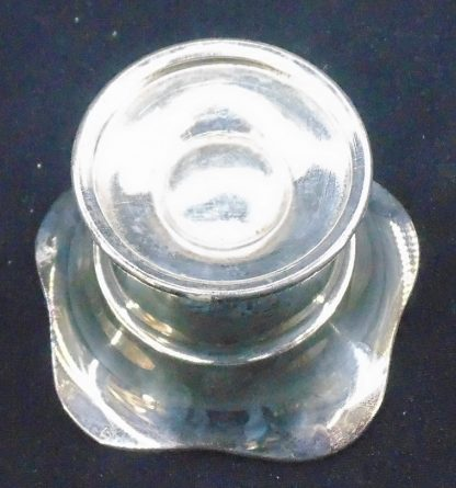 Small silver EPNS Candle Holder