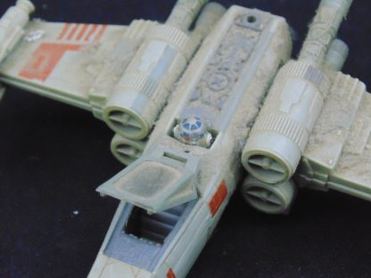 1970s Star Wars X-Wing and Snow Speeder with Pilots